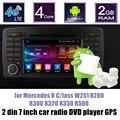 2 din android 6.0 Jogador Do Carro DVD GPS de Rádio para B-ENZ R C/lass W251 R280 R300 R320 R350 R500 tela espelhamento
