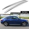 Für Mercedes-Benz GLC-COUPE GLC200 GLC260 GLC300 2019 Dach Rack Schienen Bar Gepäck Träger Bars top Racks Schiene Boxen aluminium