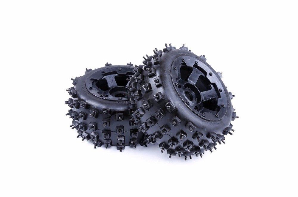 1/5 baja 5B knobby шины для ногтей задние шины-2 шт./пара для hpi km rv Baja 5B ss-rear 850383