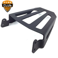 For Yamaha Star Bolt XVS950 XV950 XVS XV 950 2014 2017 Black Steel Sport Sissy Bar Backrest Luggage Rack
