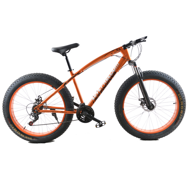 26 Inch Cross Country Snow Bike 4 0 Super Wide Tire Mountain Bicycle Male And Female