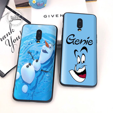 New Smiling face Coque For Oneplus 7 6T Case Cover Black Soft Silicone for Funda 1+6T Cases Capa