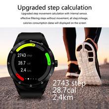 цена на Timethinker K98h Smart Watch 3G WiFi Smartwatch GPS Watch Heart Rate Monitor Men Sports Wristwatch 3D Fitness Tracker Pedometer