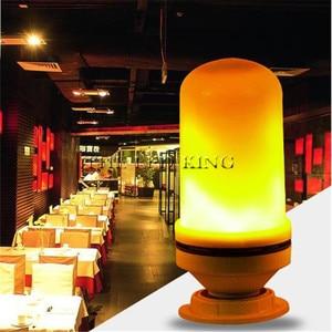 Оптовая продажа, 3 Вт, 9 Вт, 15 Вт, E27, E14, B22, лампочка с эффектом пламени 85 265 в, диммируемая светодиодная лампочка с эффектом огня, декоративная светодиодная лампа с имитацией мерцания|Светодиодные лампы и трубки|   | АлиЭкспресс