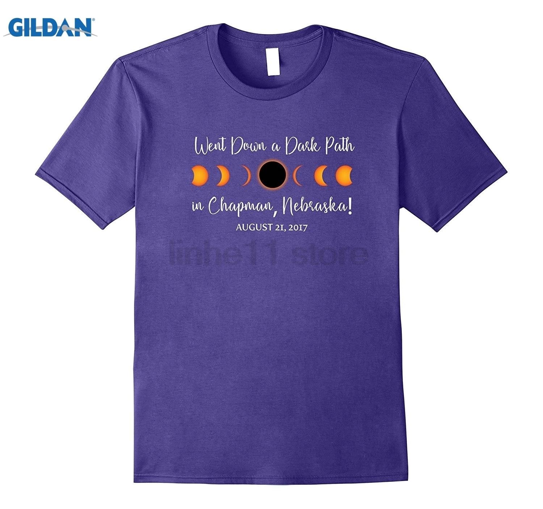 GILDAN Chapman, Nebraska 2017 Solar Eclipse TShirt, T Shirt, Tee Womens T-shirt