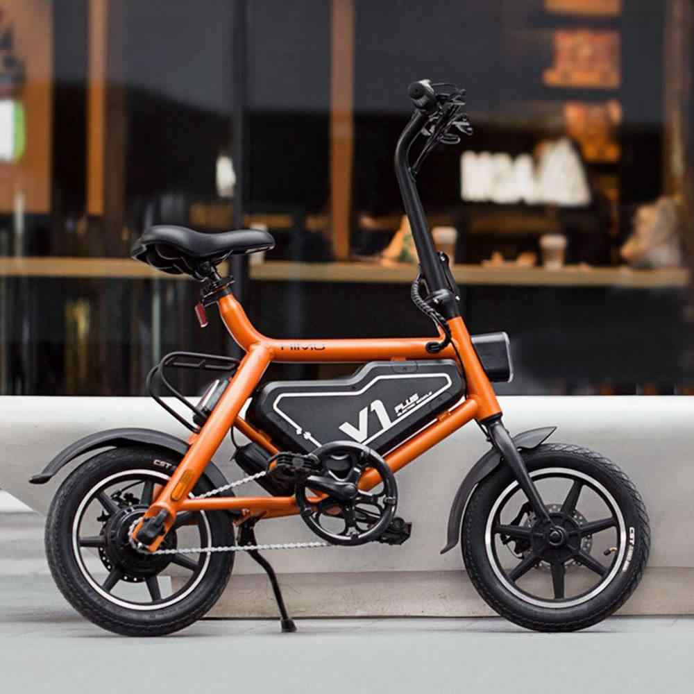 e6f230beb23 ... Xiaomi HIMO V1 Plus Portable Folding Electric Moped Bicycle Maximum  speed 25km/h Smart bike ...