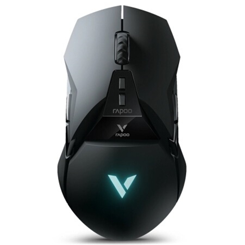 Rapoo VT950 Gaming Mouse 2.4G Wireless 16000DPI OLED Display RGB Lighting PMW3389 Engine For PUBG LOL FPS Games image