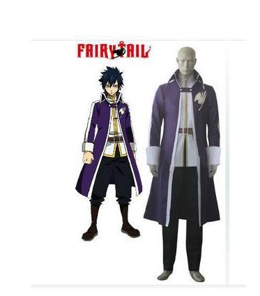 Japan Anime Cosplay Costume Fairy Tail Gray Fullbuster ...