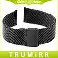 22mm de aço inoxidável pulseira smart watch strap band para moto 360 2 segundo 46mm 2015 samsung galaxy gear 2 r380 neo r381 live r382