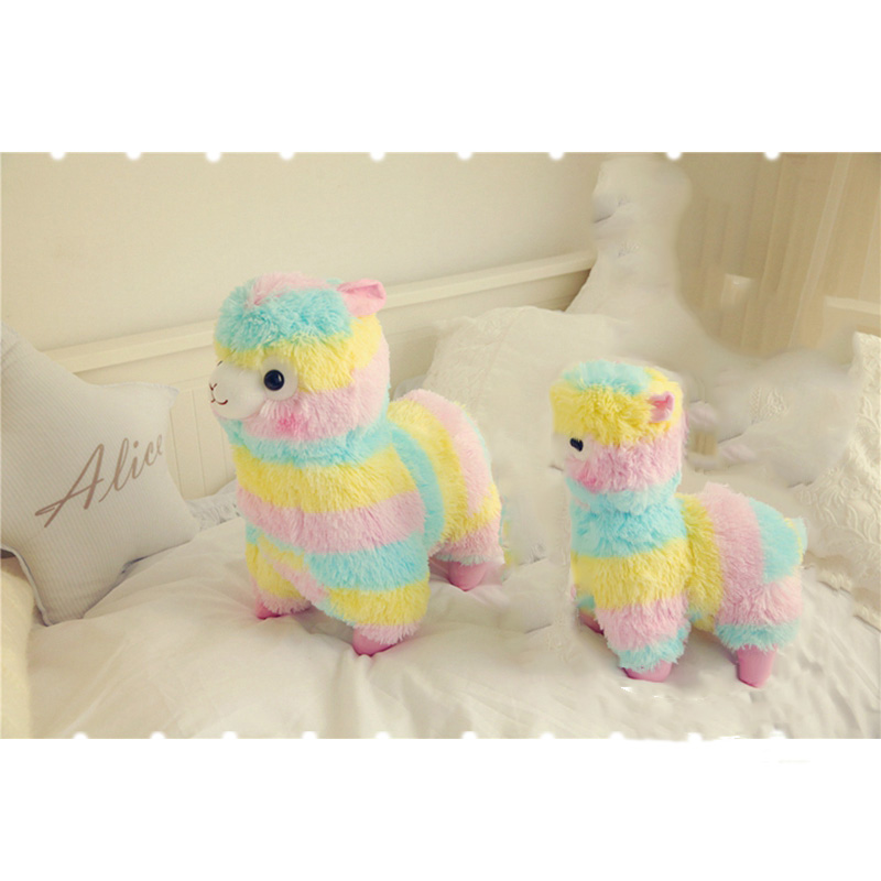 1PC13 18 35 45CM Lovely Japanese Alpacasso Soft Toys Doll Kawaii Sheep Alpaca Plush Stuffed Animals Toys Kids Christmas Gifts in Movies TV from Toys Hobbies