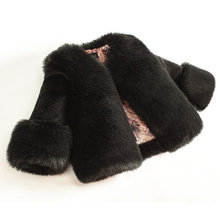 Dollplus 2020 Ragazze di Inverno Cappotto di Pelliccia di Modo Elegante Del Bambino Della Ragazza Faux Fur Giubbotti e Cappotti di Spessore Caldo Parka Per Bambini Boutique vestiti
