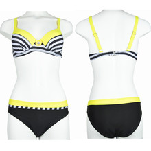 Striped Swimsuit For Ladies
