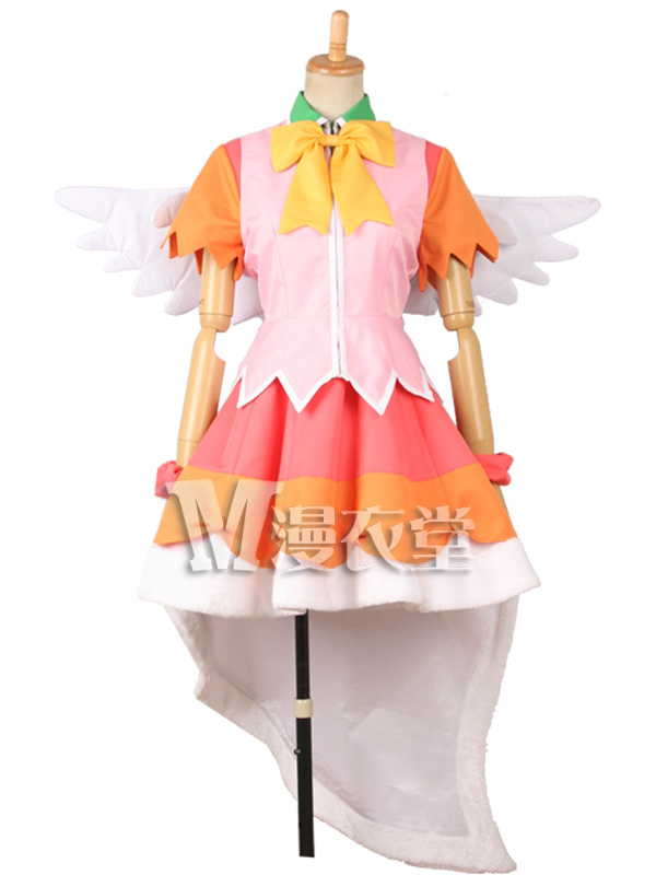 Kyoukai no Kanata Ai Shindou Cosplay Costume Custom Made Uniforms Free Shipping +Wings 2018 guilty gear xrd sign dizzy uniforms cosplay costume custom made
