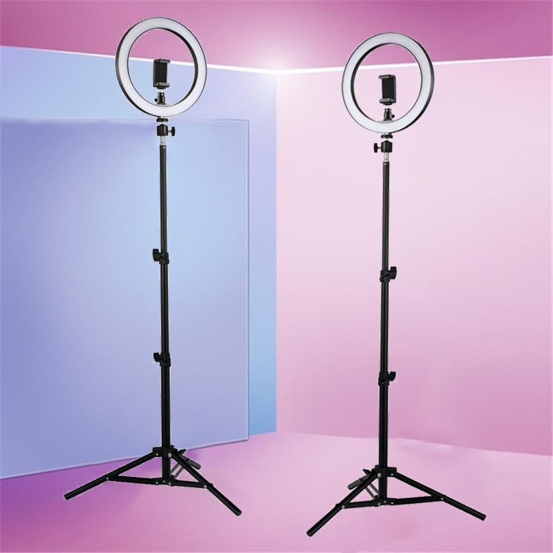 LED Ring Light 2700K-5500K 12W Photo Studio 10