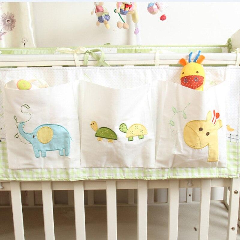 Musselin Baum Bett Hängen Lagerung Tasche Babybett Bett Marke Baby Baumwolle Krippe Organizer 50*60 Cm Spielzeug Windel Tasche Für Krippe Bettwäsche Set Bettwäsche-sets Mutter & Kinder