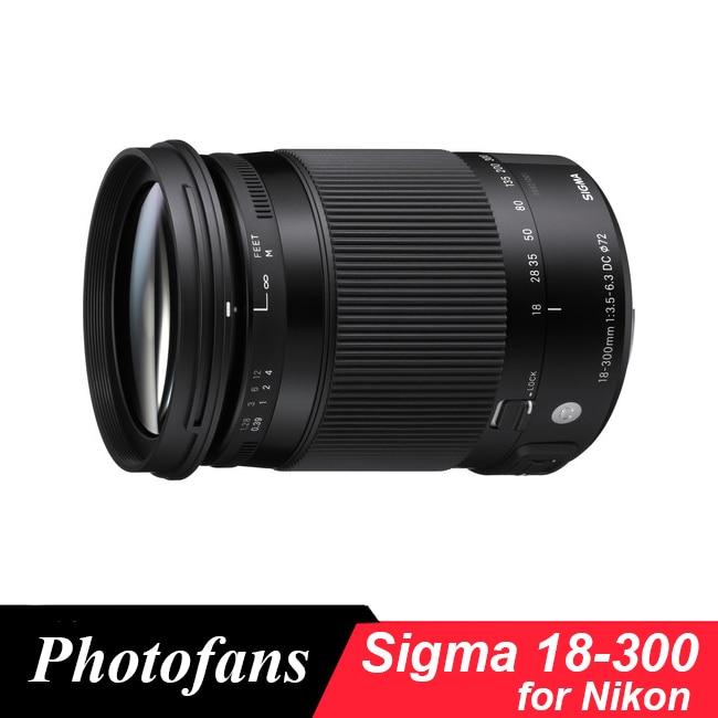 Sigma 18-300mm f/3.5-6.3 DC MACRO OS HSM Contemporary Lens for Nikon D3200 D3300 D3400 D5200 D5300 D5500 D5600 D7100 D7200 D7500 tokina 11 16mm f 2 8 at x 11 16 pro dx ii lens for nikon d3200 d3300 d3400 d5200 d5300 d5500 d5600 d7100 d7200 d90 d500
