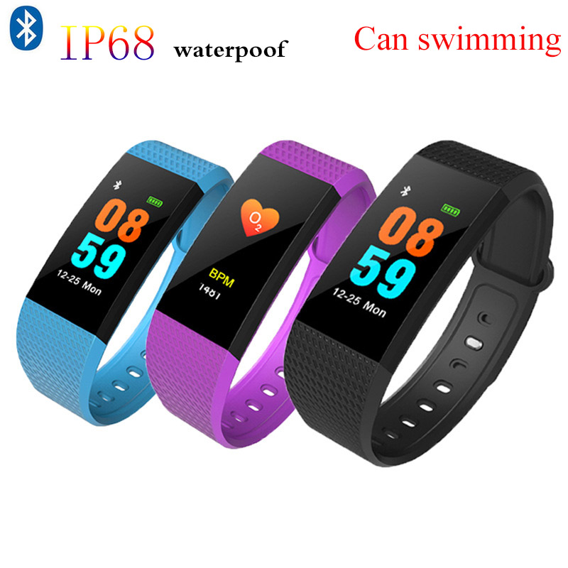 615831941d6c US $6.19 32% OFF|Smart Watch New IP68 Professional Waterproof Smart Watch  Sports Fitness Activity Heart Rate Tracker Blood Pressure Watch Swim-in ...