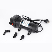Lift 20m 35PSI 110V/220V AC Plug Household Large Flow Automatic Pressure Switch Mini Electric Diaphragm Water Pump FL-32 FL-33