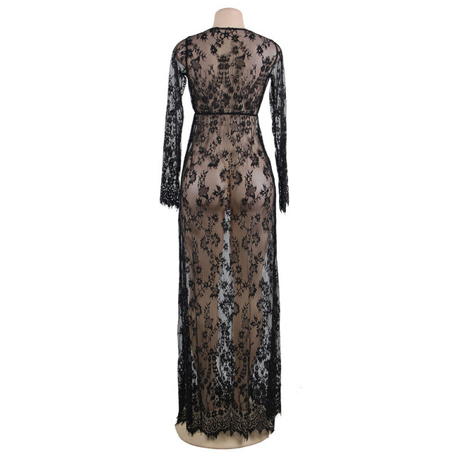 Plus Size Nightgown Lace 10