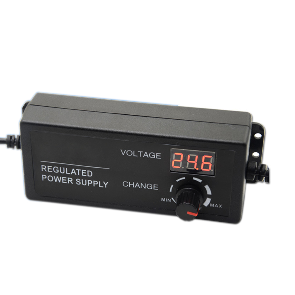 AC/DC Adjustable Power Supply Adapter 3-12V 5A Voltage Display Speed Control US Plug ALI88 ac dc adjustable power supply adapter 3 12v 5a voltage display speed control us plug ali88