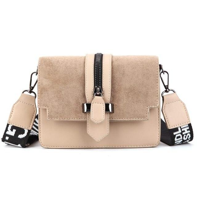 2019 yeni mini çanta kadın moda ins ultra yangın retro geniş omuz askısı askılı çanta çanta basit stil Crossbody çanta