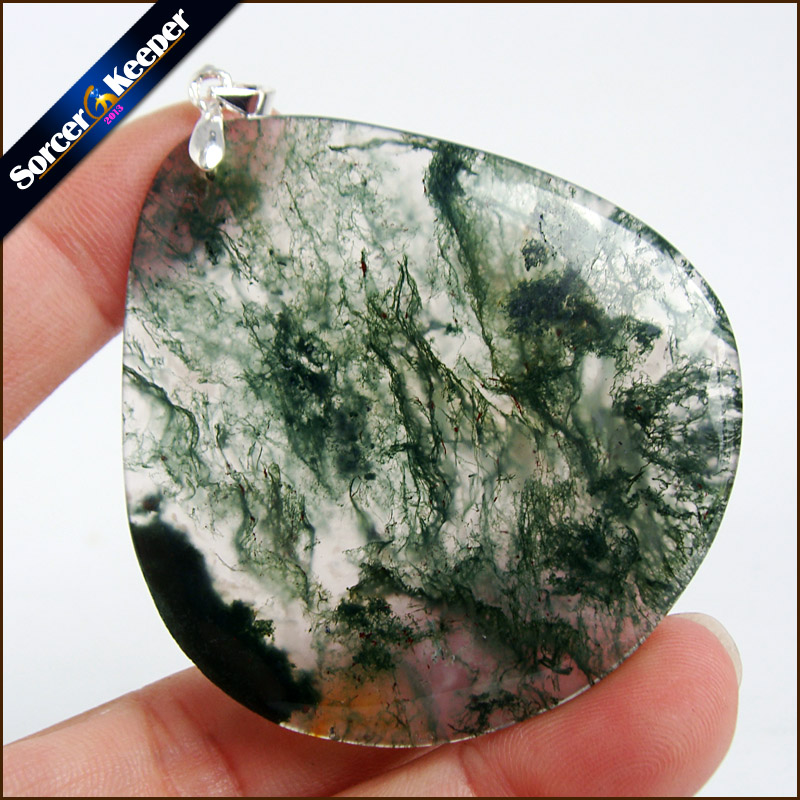 Unique Mens Jewelry Agates Natural Stone Pendants Statement Necklaces Wholesale Crystal Leather Chains Fashion Jewelly MS412