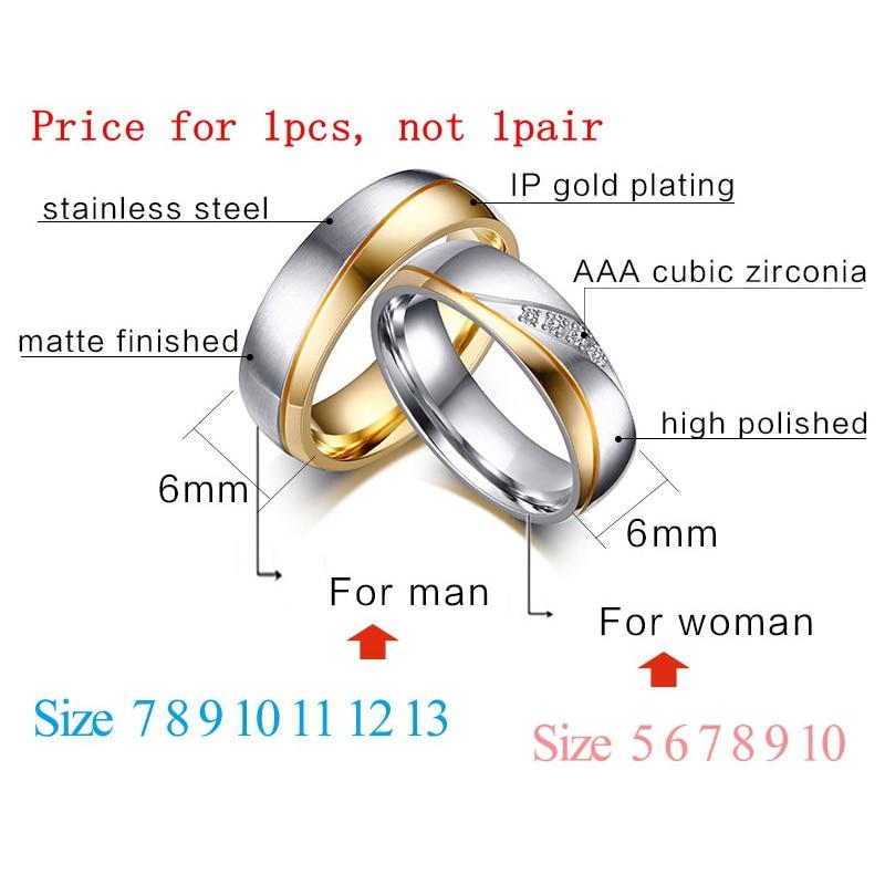 Meaeguet романтични сватбени пръстени за - Модни бижута - Снимка 2