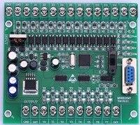 plc programmable logic controller single board plc FX2N 20MT online download plc,STM32 MCU 12 input 8 output motor controller
