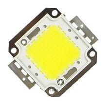 Светодиодный чип 1 Вт 10 Вт 20 Вт 30 Вт 50 Вт 100 Вт интегрированные светодиоды Точечный светильник DIY проектор уличный прожектор светильник COB 30*30 мил Высокая мощность 1 шт
