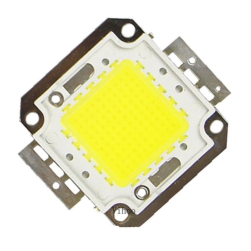 Chip de led 1 w 10 20 30 50 100 leds integrados spotlight diy projetor ao ar livre luz inundação rua cob 30 * 30mil alta potência 1 pçs