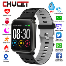 Smart Watch Men Women Blood Pressure Waterproof Music Contro