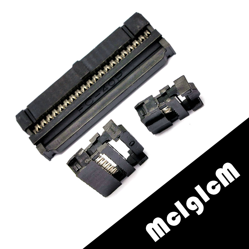 10 sets 2.54mm Connector Straight IDC Box Headers Connector 2.54mm Pitch Box Headers Female Connector eglo connector box 91207