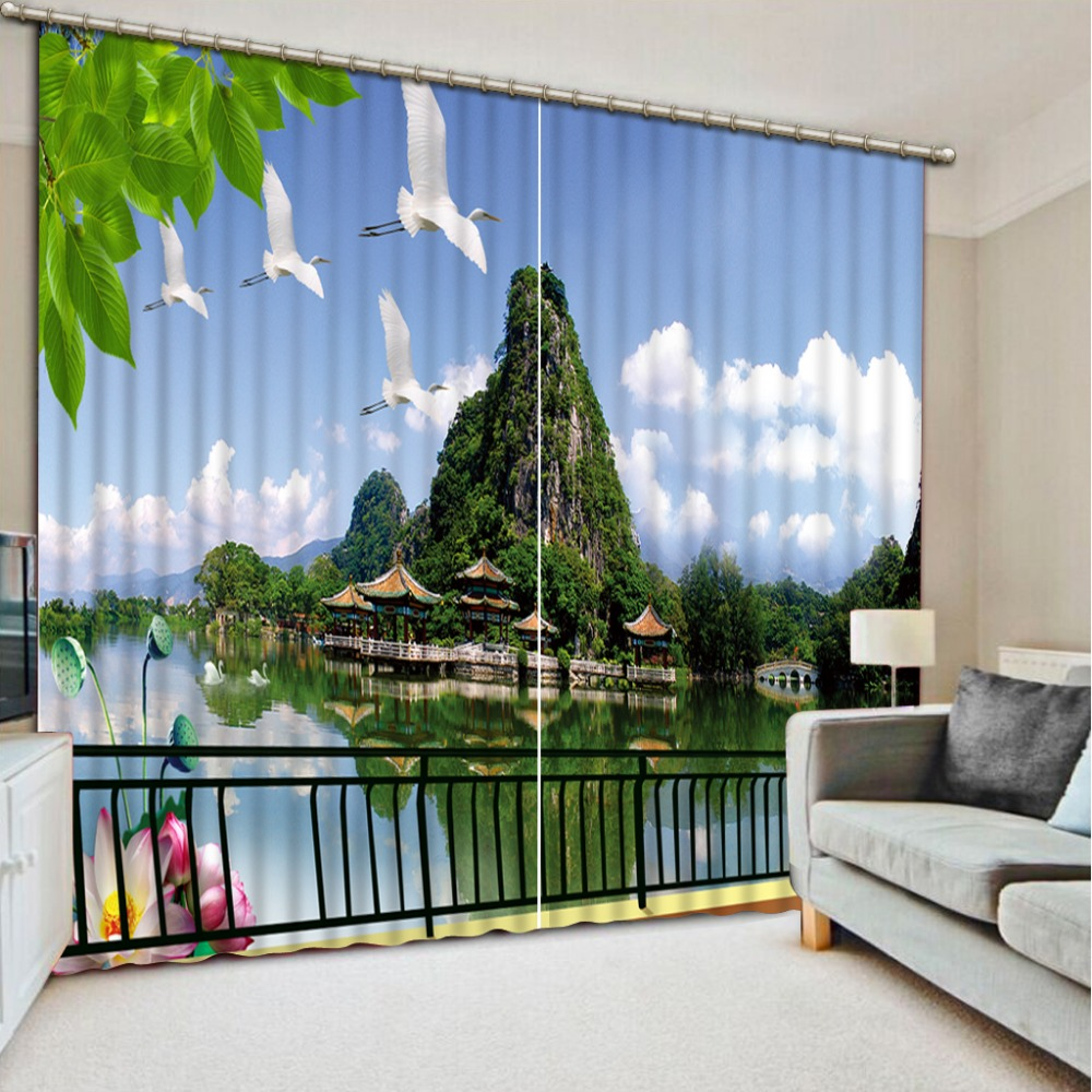 Online Get Cheap Luxury Curtains for Living Room Chinese Style ...