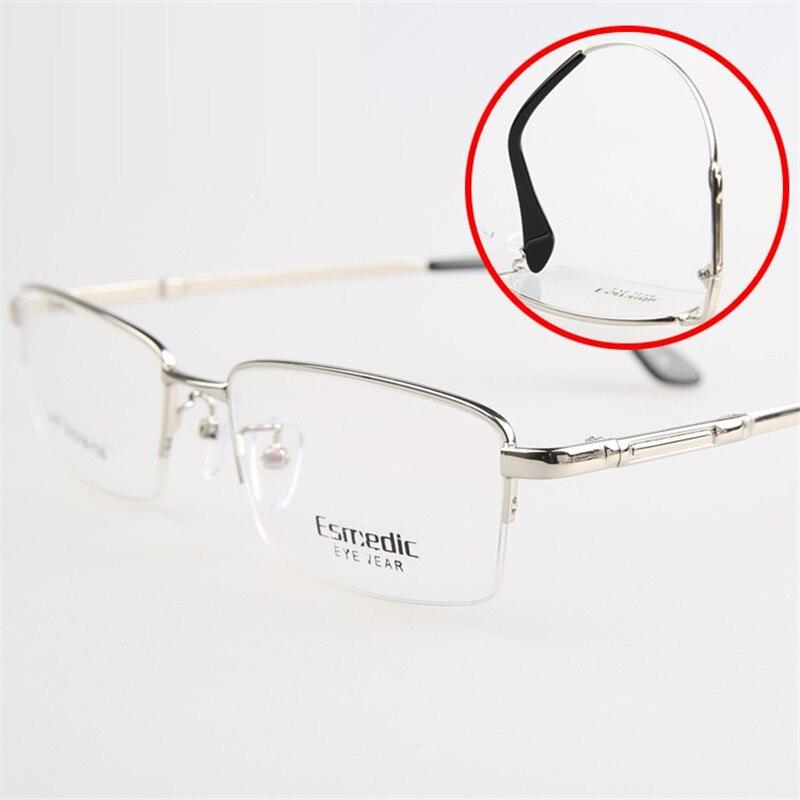 Vazrobe Men's Glasses Prescription foldable temple anti blue light ray photochromic progressive multifocal 1.56 1.61 1.67