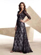 free shipping bridal lace bolero jacket 2013 hot seller new brides maid dresses Unique Black Lace Formal Gown good Evening Dress