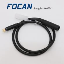 Motor-Extension-Cable Connector Change-Bike E-Bike-Accessory FOCAN Bicycle for 9pin Female