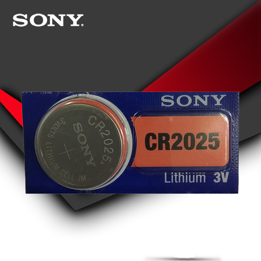 SONY Original <font><b>cr2025</b></font> Button Cell <font><b>Batteries</b></font> <font><b>cr2025</b></font> 3V Lithium Coin <font><b>Battery</b></font> For Watch Calculator Weight Scale image