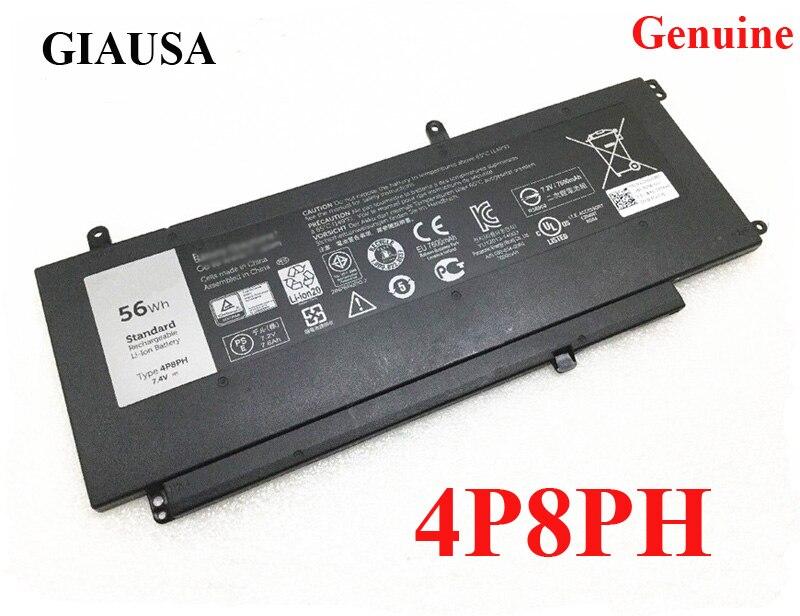 Новый аккумулятор 4P8PH для Dell Inspiron 15 5000 G05H0 0G05HO G05HO 15 5000 (5547-3207) 15-5558 5547-3214 7,4 в 56 Втч