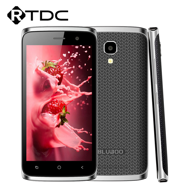 "Original Bluboo Mini 3G WCDMA 4.5""HD Octa Core 1.3 GHz 1800mAh 1GB RAM 8GB ROM MT6580M Android 6.0 960x540 Mobile Phone"