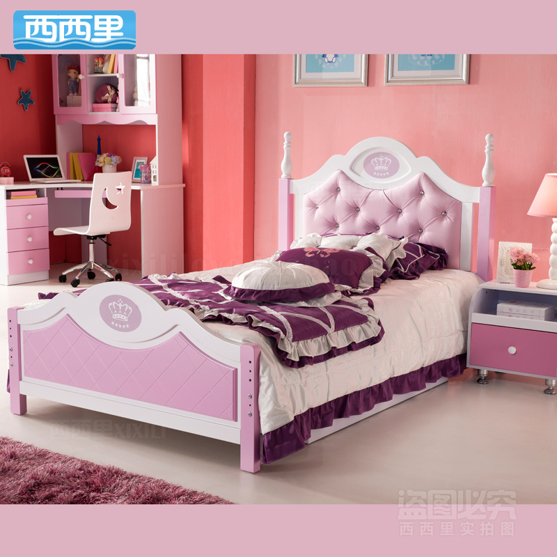 Princess Bed Children S European Environmental Twin Bedroom Furniture In Sets From On