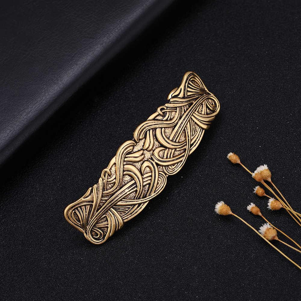 Dawapara 여성 우아한 헤어 바레트 은빛 수제 헤어 스틱 액세서리 은빛 황금 헤어 클립