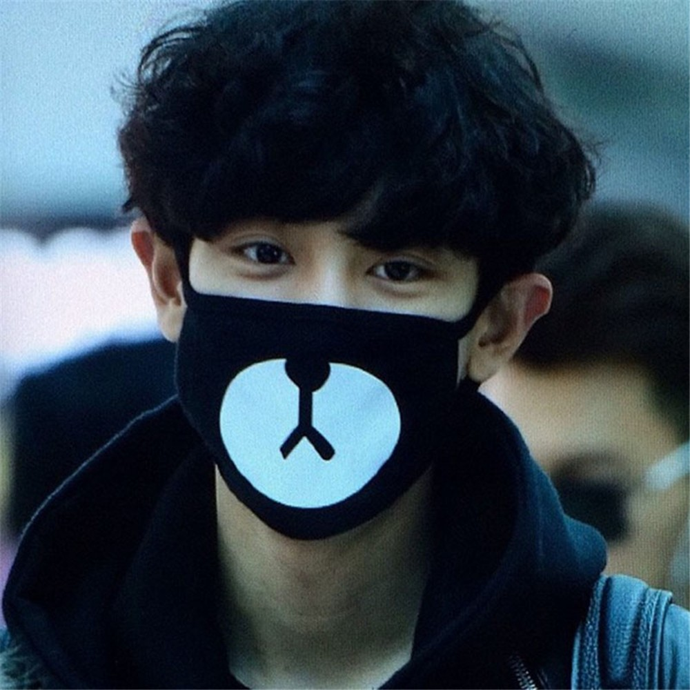 Men's Earmuffs Men's Accessories K Pop Wholesale K-pop Fan Exo-k Exo m Xoxo Exo In Near My Home Kpop Antidust Cotton Mouth-muffle Masques Kz001 Good For Energy And The Spleen