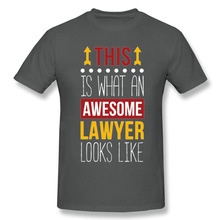This is what an awesome Lawyer looks like t-shirt