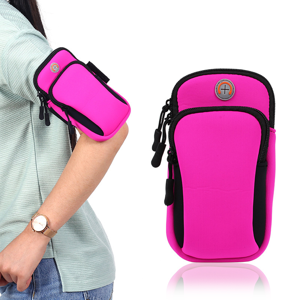 2018 Running Sport Bags Men Women Mobile Phone Arms Package Sport Equipment Jogging Run Bag Accessories Outdoor Climbing Arm Bag 9