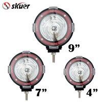 4 7 9 Inch Off Road 6000K 55W Spotlight Hid Xenon Lamp Super Bright Off Road