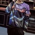 Hot 2016 Nova Chegada dos homens Hoodies e Moletons Naruto Dragon Ball Anime Deadpool Casais Marca-roupas Sudaderas Hombre