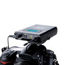 Takstar SGC-100W беспроводной петличный микрофон Lavalier система для Canon Nikon sony DSLR камеры видеокамеры Аудио рекордер