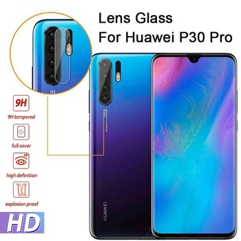 Back Camera Lens Screen Protector For Huawei Honor 10 Lite V20 7A 7C 8X P30 P20 Lite Mate 20 10 Pro Psmart 2019 Cover Glass Film image