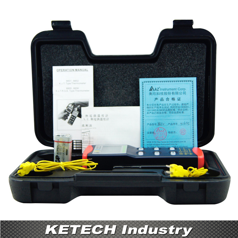 AZ-8851 Digital Thermocouple Thermometer with K/T/J Probe