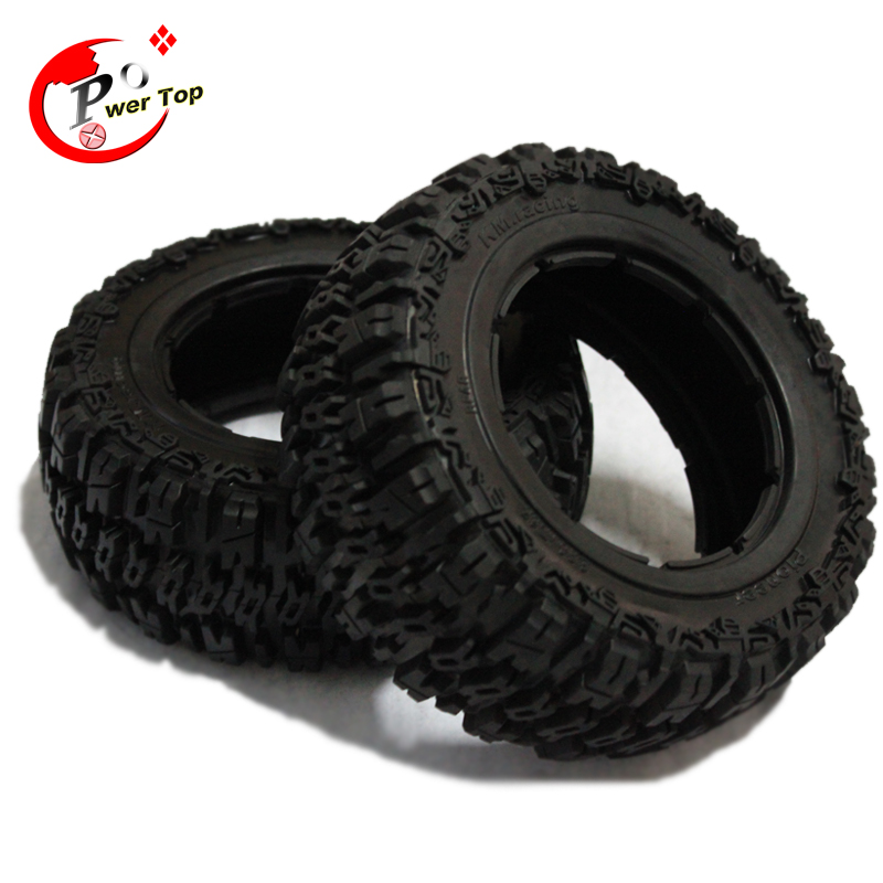 King Motor Baja T1000 Rear Pioneer tire Tyre set for HPI BAJA 5T Parts Rovan Free